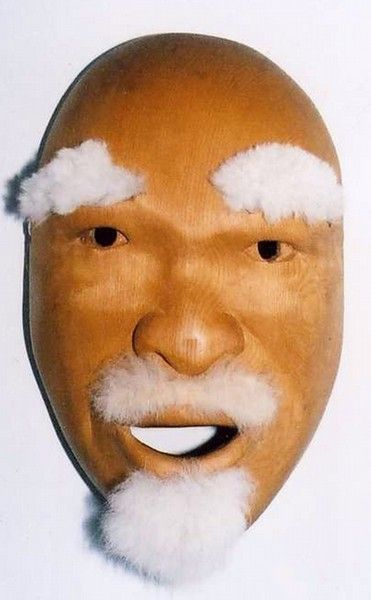 <strong>2003, Old Man Dance Mask, first version, private collection</strong>
