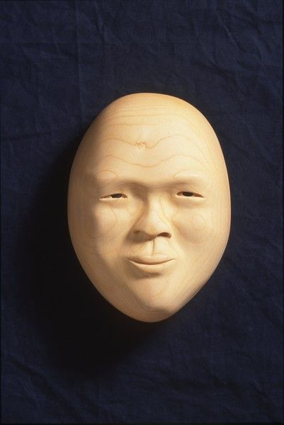 <strong>2000, bass wood mask, private collection (photo by Michael Jones)</strong>