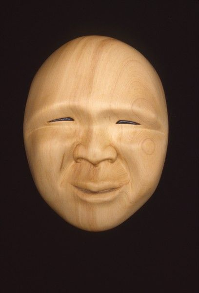 <strong>1998, yellow cedar mask, private collection</strong>