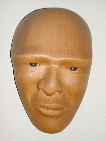 <strong>2003, port oford cedar mask, private collection</strong>