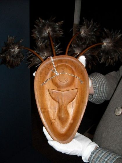 <strong>2006, The Effects of Global Warming, backside, collaboration with Natalie Jensen, Alaska Native Heritage Center</strong>