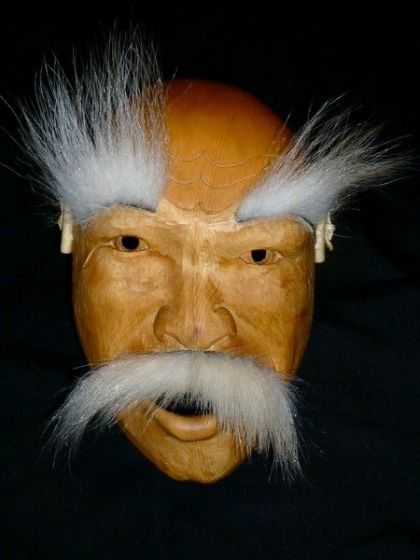 <strong>2010, Old Man Dance Mask, private collection</strong>