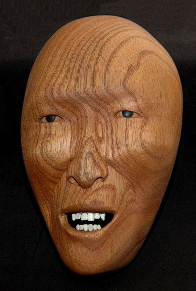 <strong>2005, mask with teeth, private collection</strong>